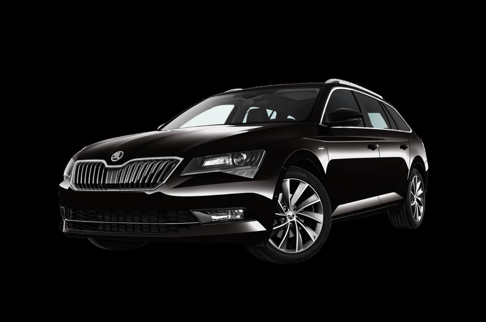 čierny Superb, Škoda na prenájom, operatívny leasing Škoda